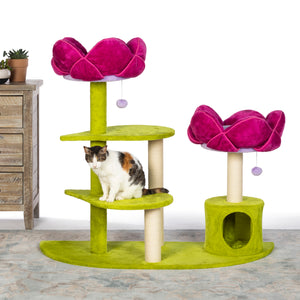 Flower Garden Luxe Cat Tree from Prevue Pet
