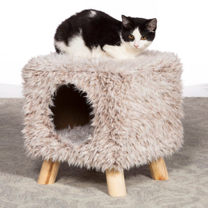 Cozy Cube Luxe Cat Hideaway from Prevue Pet