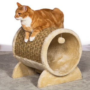 Cozy Tunnel Cat Hideaway from Prevue Pet