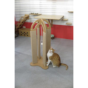 Arched Scratching Post from Catswall