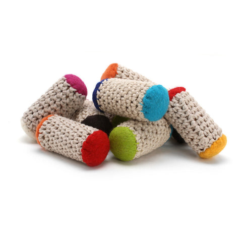Bamboleos - Re-purposed Wine Cork Cat Toys with Organic Catnip (Set of 3 toys)
