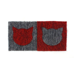 Cat Face Coasters (set of 2)