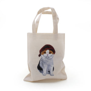 Cats In Hats Mini Tote Bags