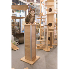 CatScraper Tower Vertical Pine Cat Scratcher from Catswall