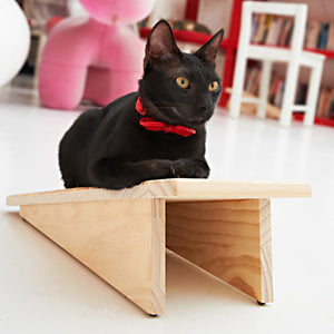 CatScratch Board Solid Pine Cat Scratcher from Catswall