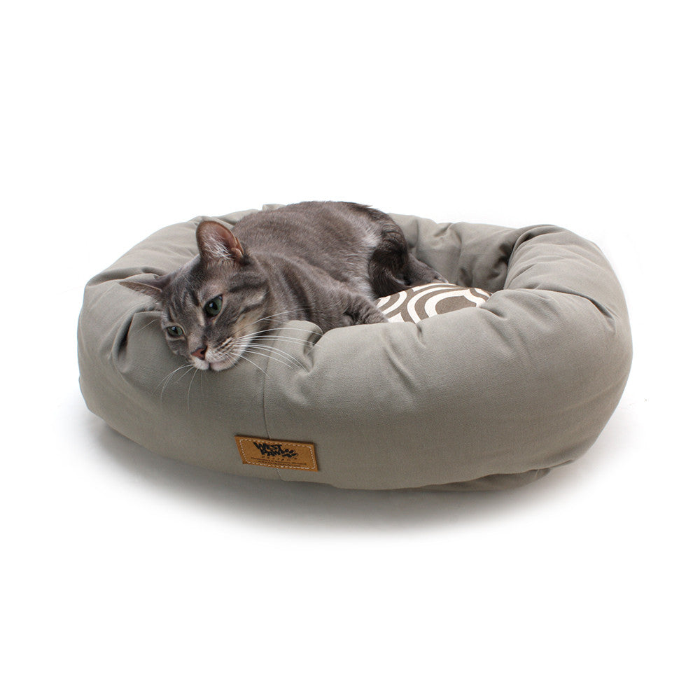 Cotton Bumper Bed for Cats from West Paw Design