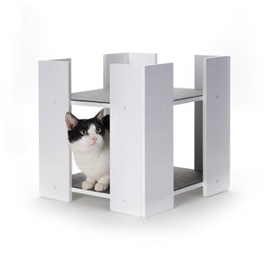 Hauspanther Cubitat Multi-level Cat Bed & Hideaway by Primetime Petz
