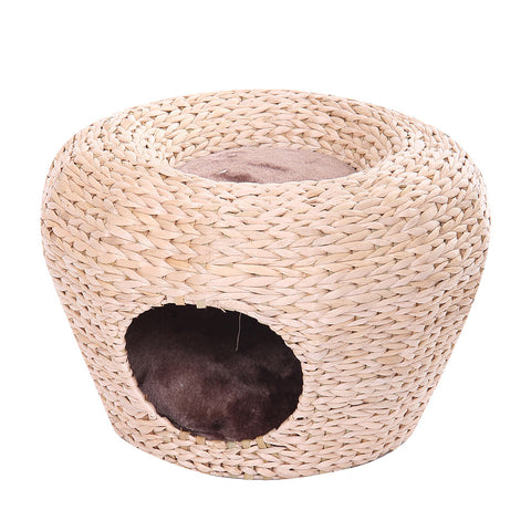 Cupola Woven Raised Cat Bed & Hideaway from PetPals