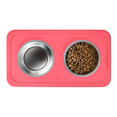 Ono Good Bowl (Double) :: Feeding Bowl & Silicone Mat