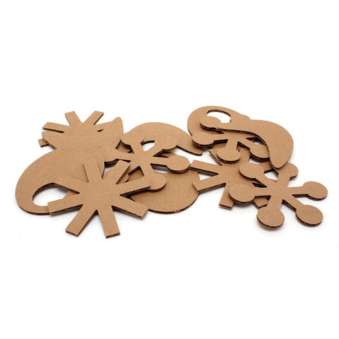 Eco Flyers - Eco-friendly Cardboard Cat Toys (Package of 12 toys)