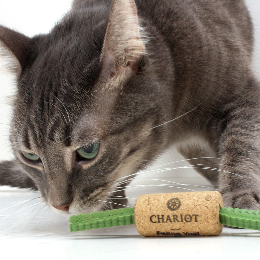 Thunderbolt - Wine Cork Cat Toys from Feline Yogi (Set of 2 toys)