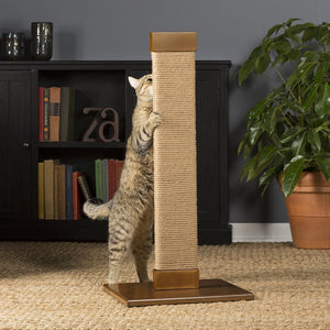 Flat Jute Cat Scratching Post from Prevue Pet