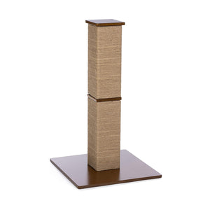 Gemini Tall Square Cat Scratching Post from Prevue Pet