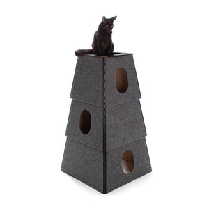 Happystack 3-Story Cat Tower