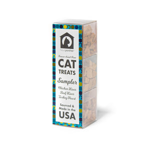 Hauspanther Freeze-dried Raw Cat Treat Sampler MADE IN THE USA