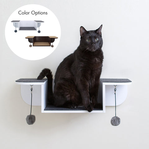 Hauspanther Nest Perch Wall-mounted Cat Perch & Lounge by Primetime Petz