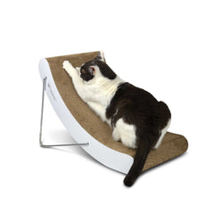 Hi-Lo Multi-Position Modern Cardboard Cat Scratcher from Hepper