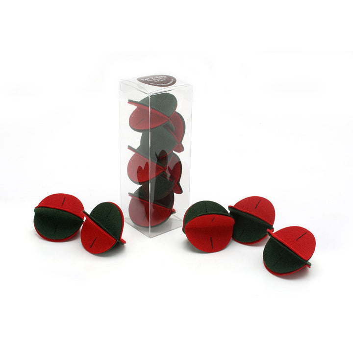 Holiday Felt Rollers 5-pack Gift Box