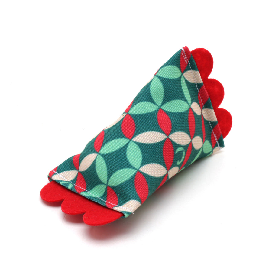 Holiday ModShakers Catnip Rattle Toys