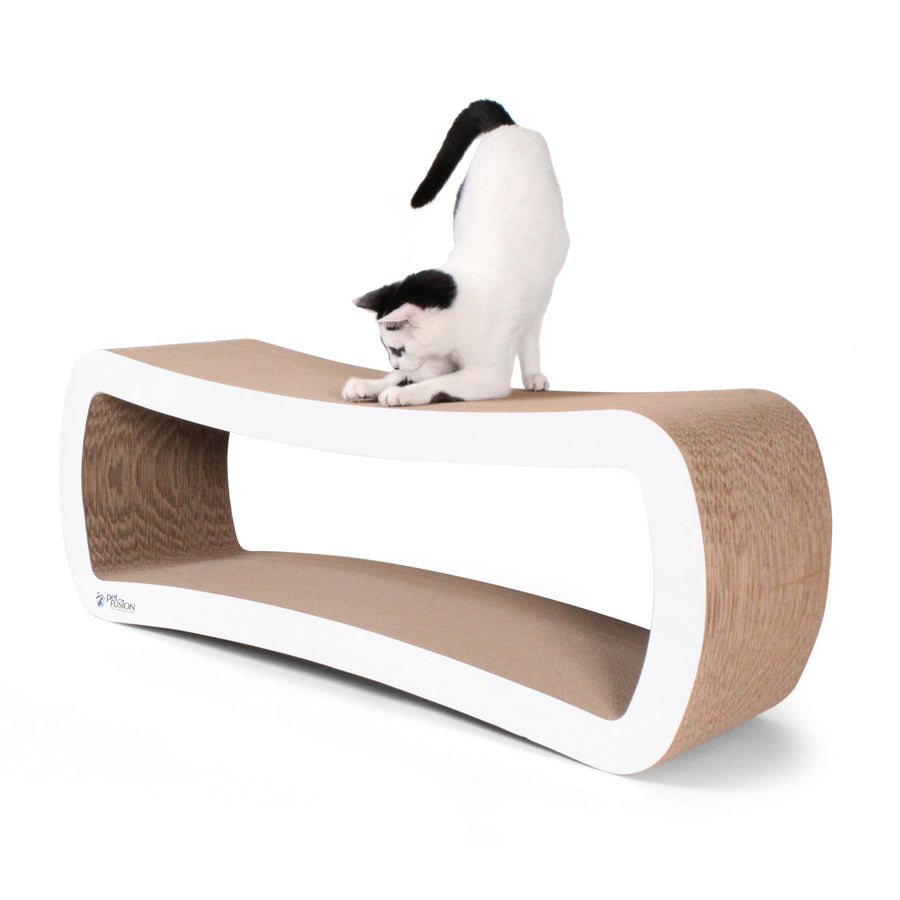 Jumbo Cardboard Cat Scratcher & Lounge from PetFusion
