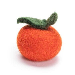 Fruit Assortment Felted Wool Cat Toys from Karma Cat (Set of 3 toys)