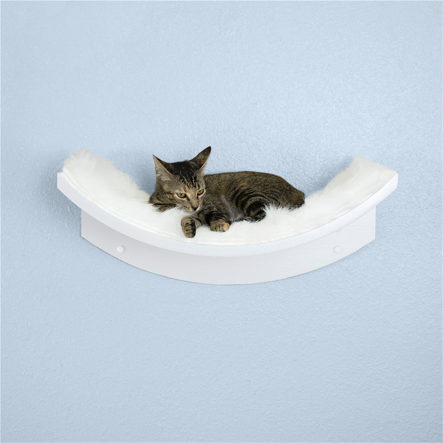 Lotus Cat Shelves from The Refined Feline