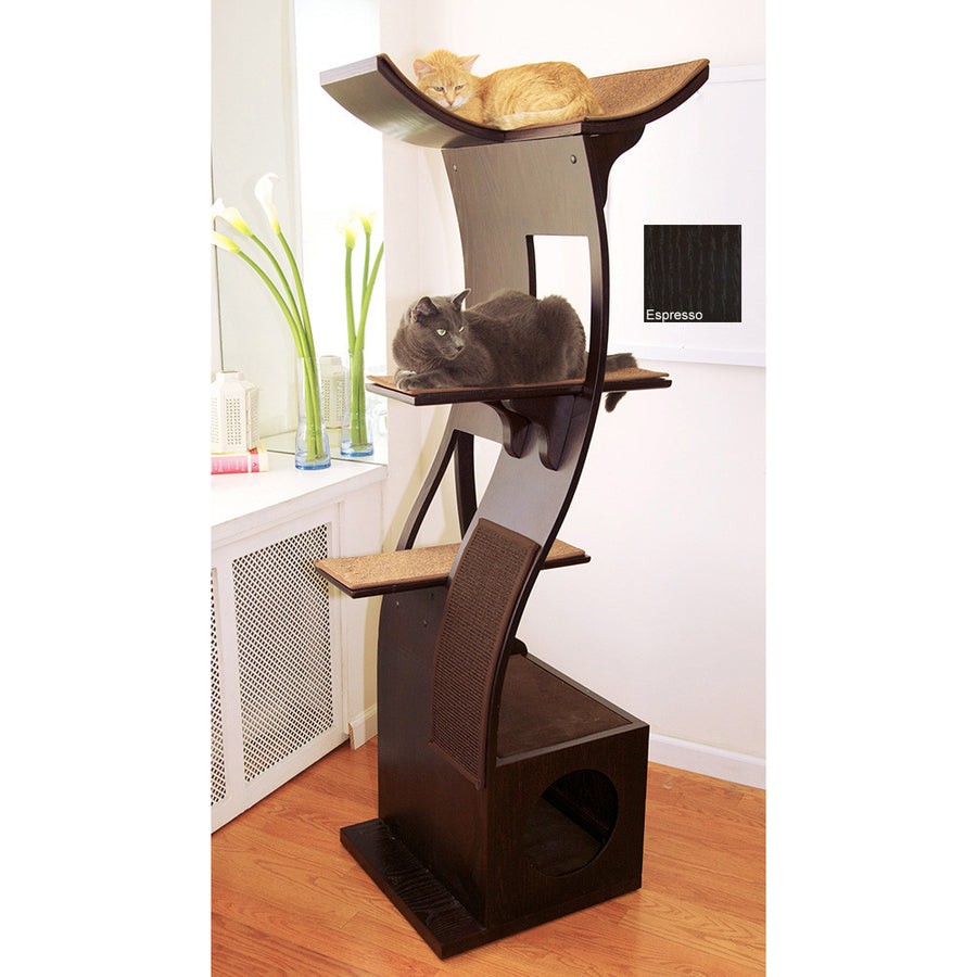 Lotus Cat Tower from The Refined Feline