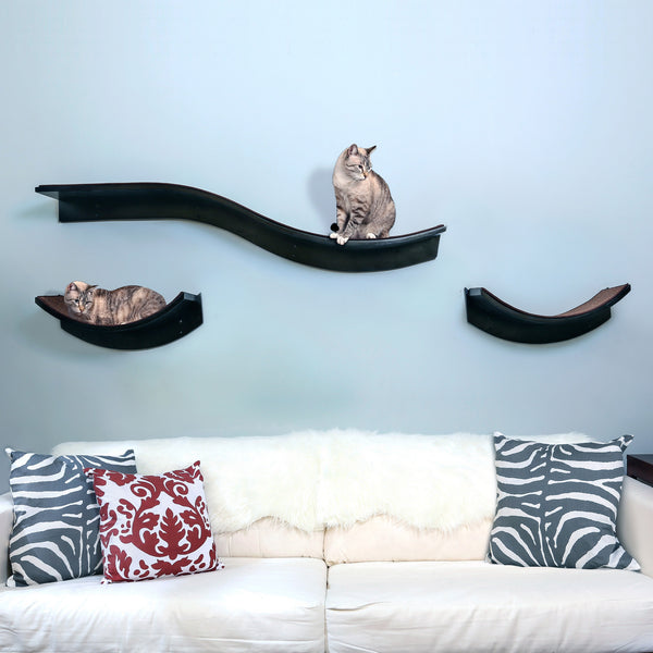 Lotus Cat Shelves From The Refined Feline Hauspanther
