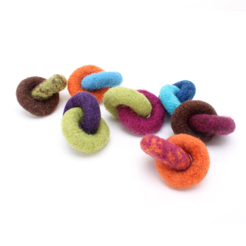 Lynks - Felted Wool Cat Toys (Set of 3 toys)