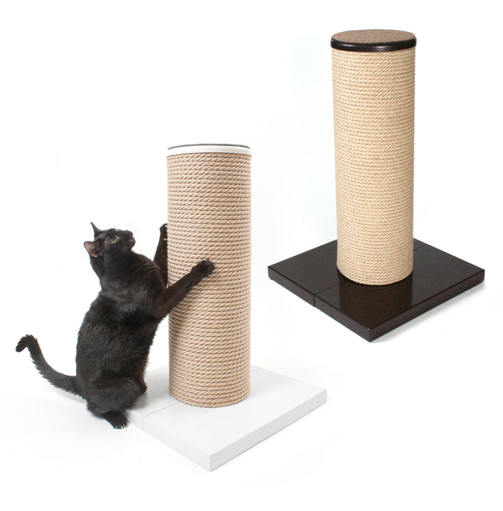 Hauspanther MaxScratch Oversized Cat Scratching Post & Perch by Primetime Pet