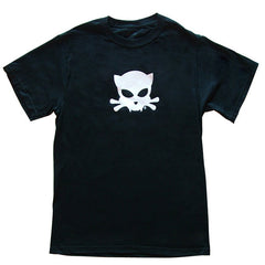 Outlaw Kitty Men's T-shirt by WATTO Distinctive Metal Wear