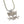 Outlaw Kitty Mini Charm Necklace by WATTO Distinctive Metal Wear