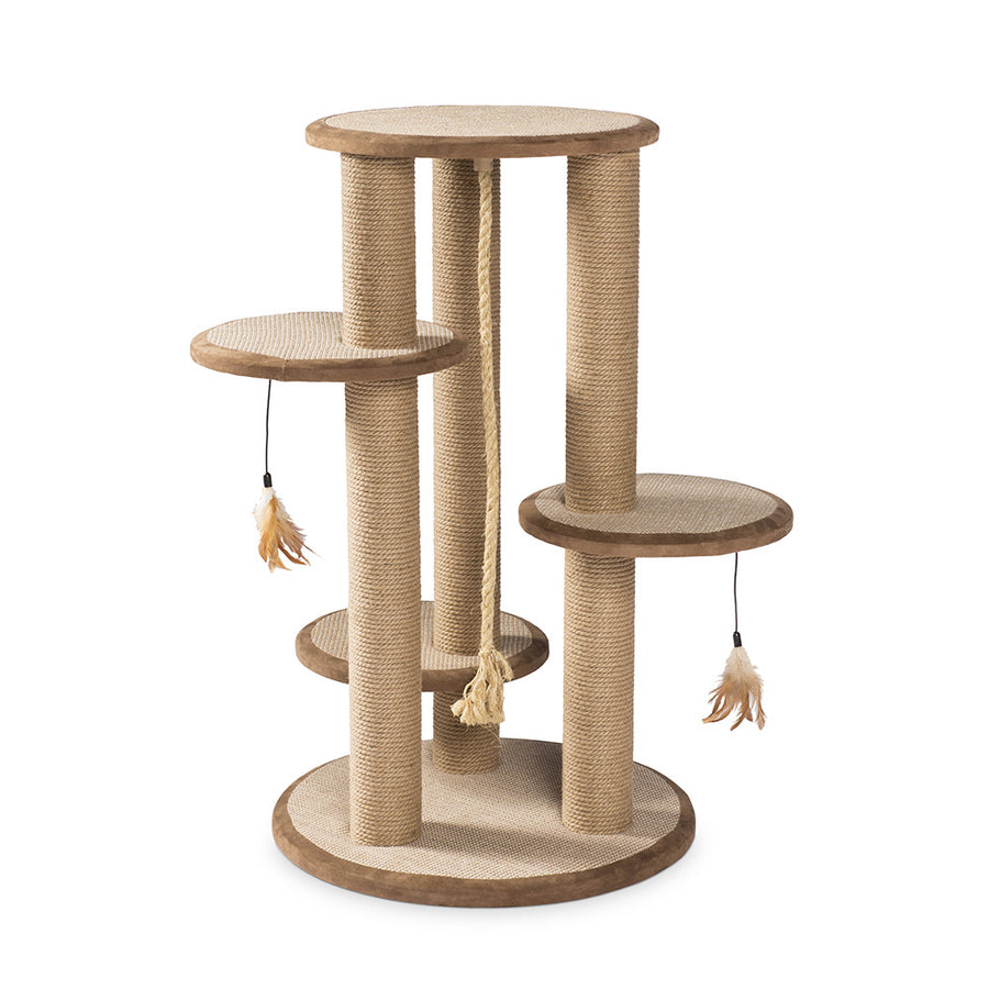 Multi-tiered Cat Scratching Post and Climber from Prevue Pet