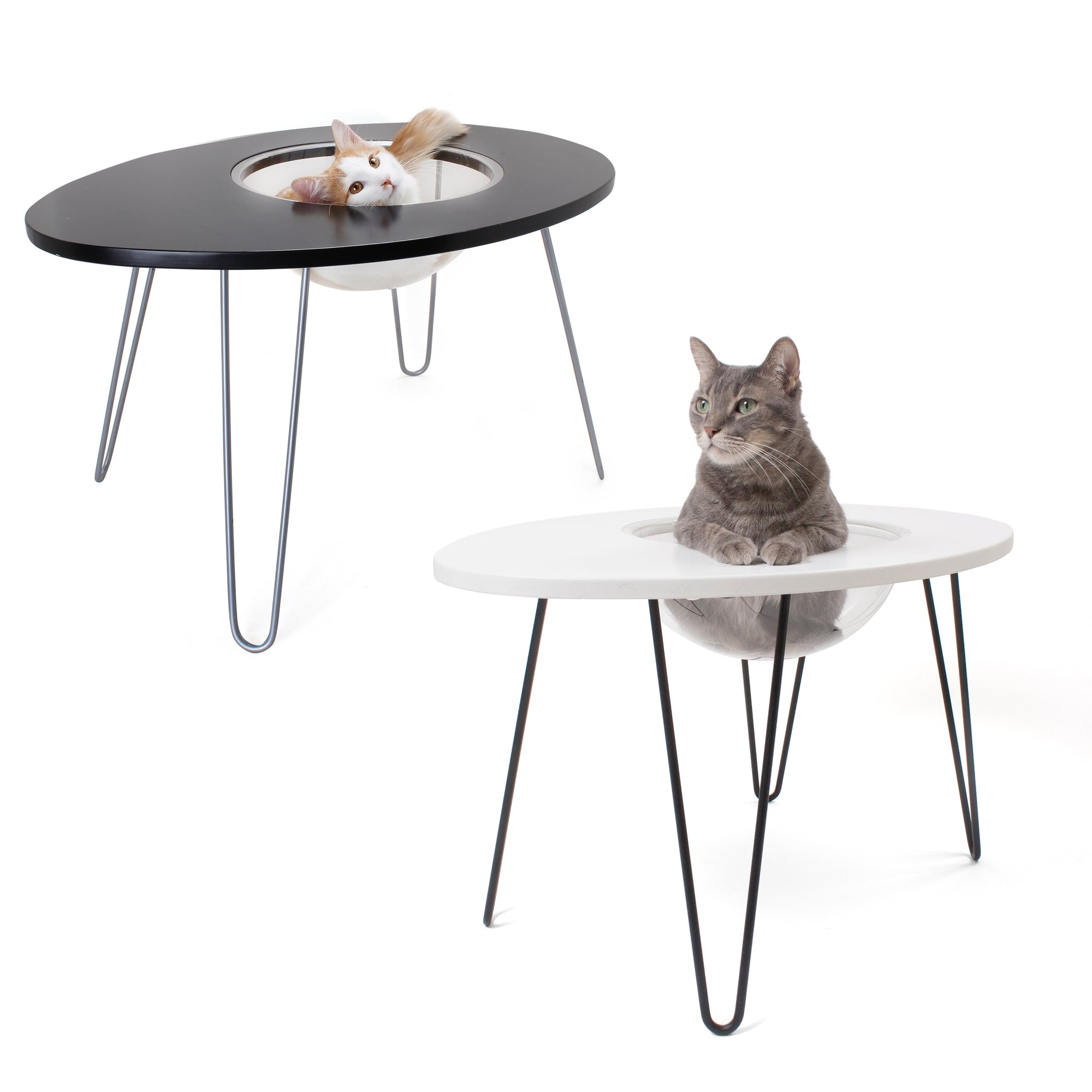 Picture of: Hauspanther Nestegg Raised Cat Bed Side Table By Primetime Petz Hauspanther