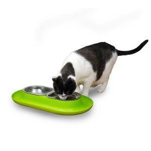 NomNom Cat Bowl with Crumb Catcher from Hepper
