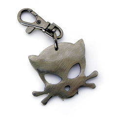 Outlaw Kitty Keychain by WATTO Distinctive Metal Wear