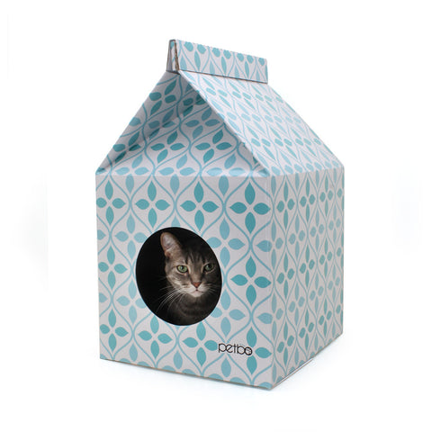 Petbo Cat Playhouse with Scratch Pad