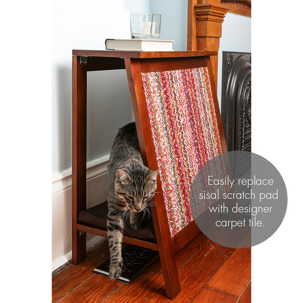 A Frame Side Table Cat Bed Amp Scratcher From The Refined