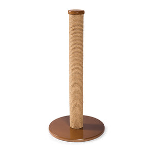 Round Jute Cat Scratching Post from Prevue Pet