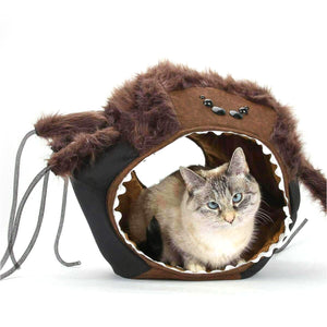 Spider Cat Ball® Halloween Hideaway Cat Bed