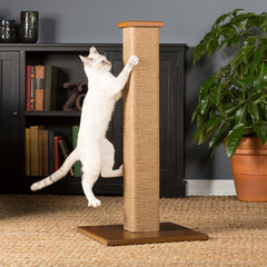 Square Jute Cat Scratching Post from Prevue Pet