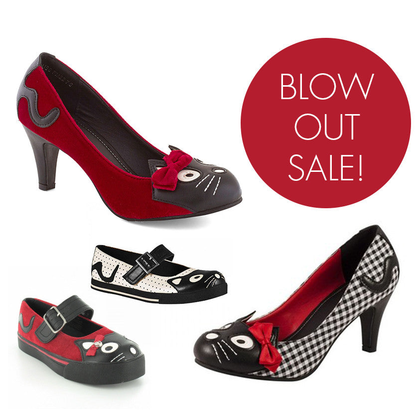 T.U.K. Kitty Shoe Blow Out Sale! Limited Sizes & Quantities!