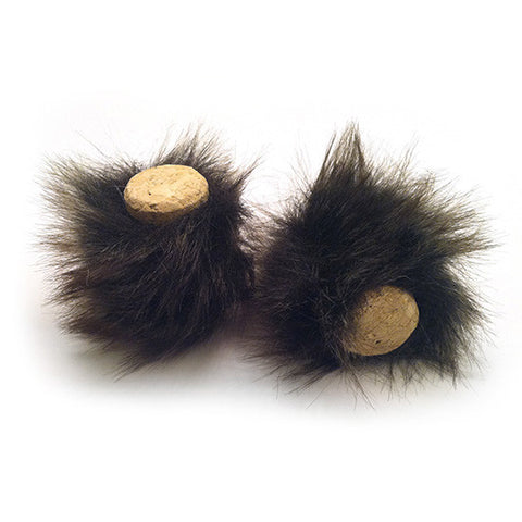 Bunnies - Wine Cork Cat Toys from Tiger Teasers (Set of 2 toys)
