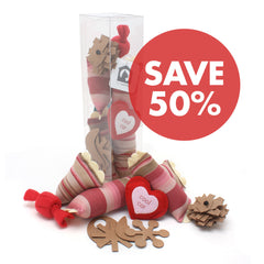 Valentine Cat Toy Gift Set LIMITED EDITION