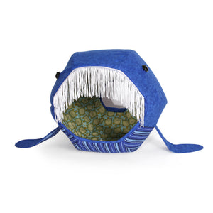 Whale Cat Ball® Hideaway Cat Bed