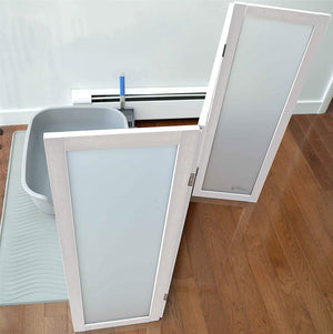 Litter Box Privacy Screen from PetFusion