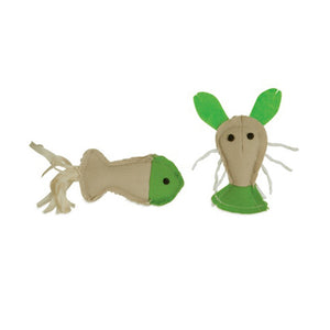 Jackson Galaxy Fish & Lobster Cat Toy 2 Pack