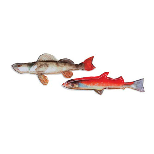 Jackson Galaxy Realistic Fish Cat Toy 2 Pack