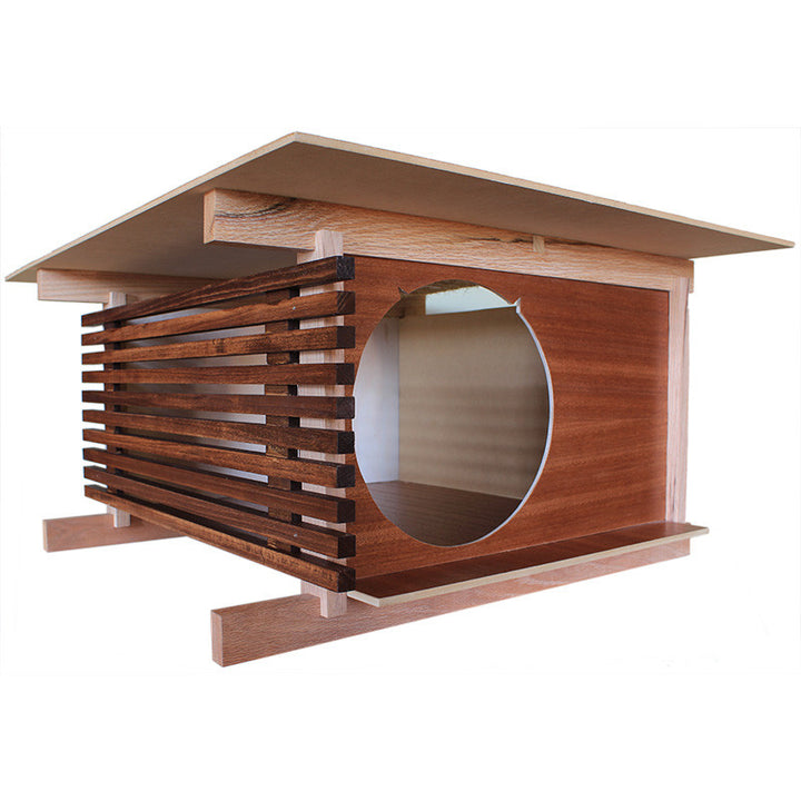 Post and Beam Cat House from Davies Decor