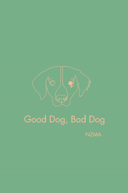 Good Dog, Bad Dog 6x9 Softcover Book CUSTOM MESSAGE